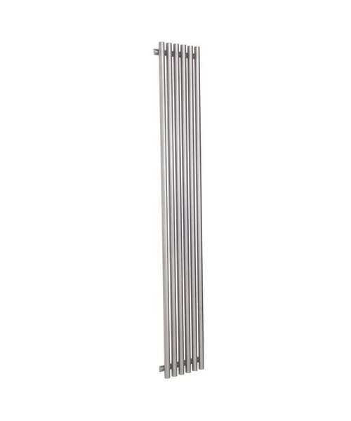Reina Orthia Satin Stainless Steel Radiator 390 x 1800mm