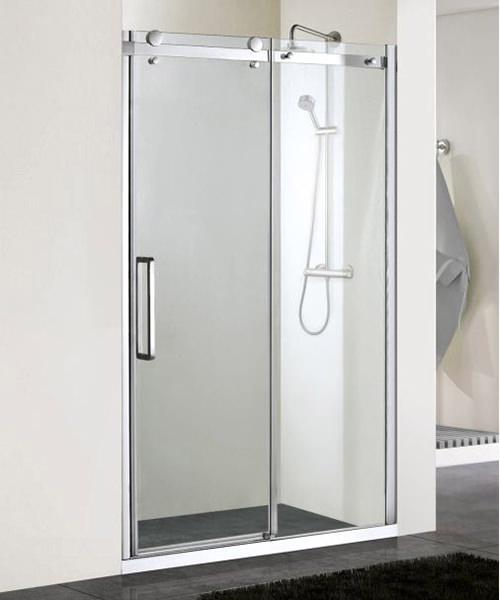 Aqualux aqua 8 vibe 1400mm sliding shower door for 1400mm sliding shower door