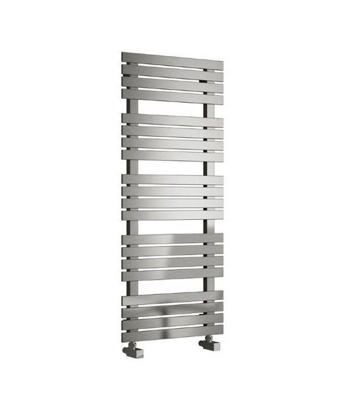 Reina Sienna Satin Stainless Steel Designer Radiator 500 x 690mm