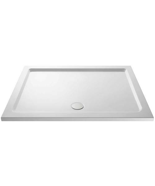 Lauren Pearlstone 1600 x 800mm Rectangular Shower Tray