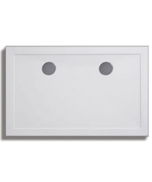 Lakes Low Profile ABS Rectangular Tray 2000 x 900mm With 90mm Waste