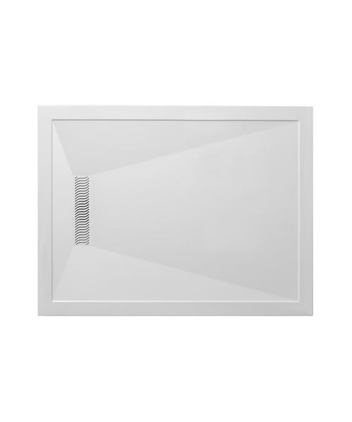 Simpsons Rectangular 1700 x 900mm Shower Tray With Linear Waste