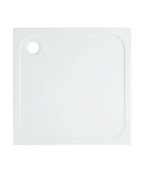 Simpsons 900 x 900mm Square 45mm Stone Resin Low Level Tray