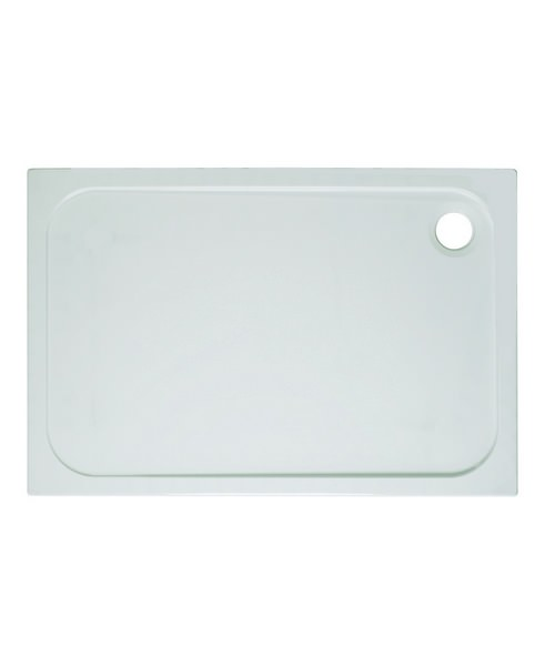 Simpsons 1600 x 700mm Rectangular 45mm Stone Resin Low Level Tray