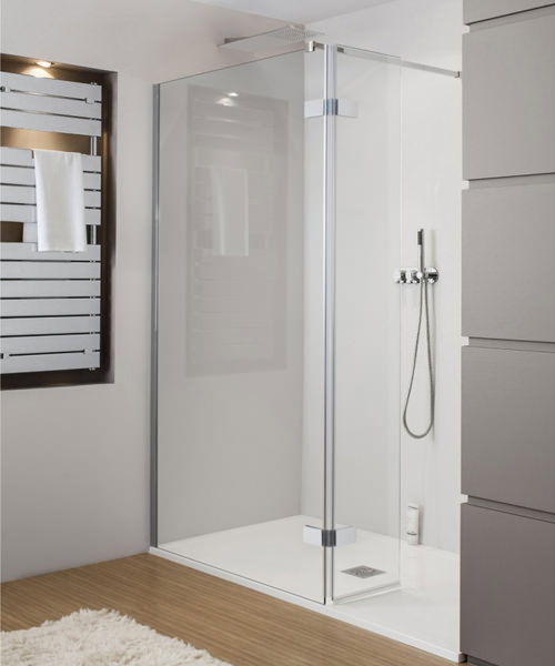 Simpsons Elite Walk In Easy Access Shower Enclosure 1050 x 2000mm