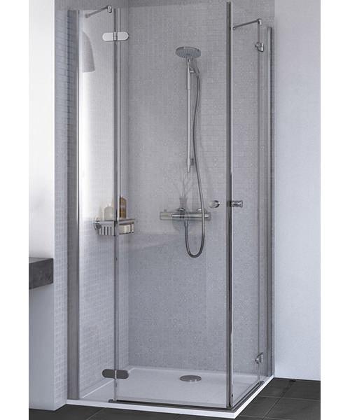 Aqualux ID Match Round Corner Entry Shower Enclosure
