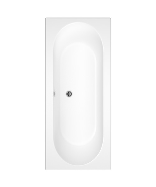Pura Curve Double Ended Bath With Legset