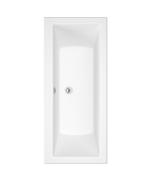 Pura SQR Double Ended Bathtub With Legset