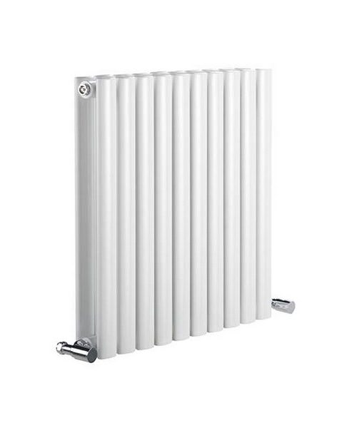 Reina Neva White 590 x 550mm Double Panel Radiator