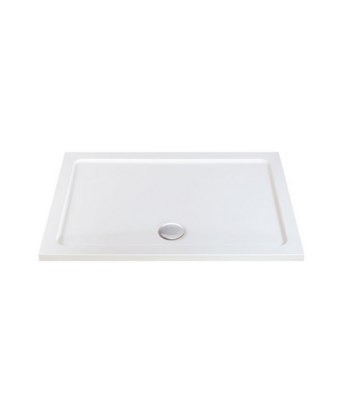 Phoenix 2000 x 900mm Rectangular Shower Tray With Centre Waste