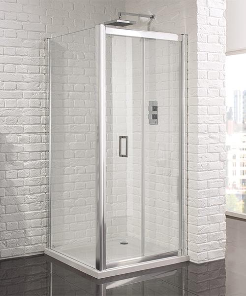 Aquadart Venturi 6 Frameless Bifold Shower Door