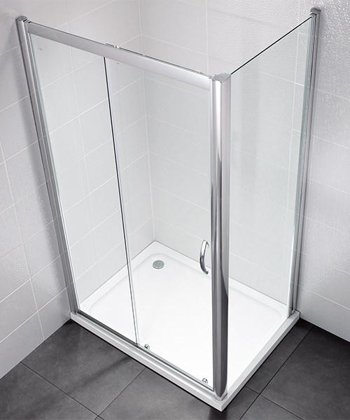 April Identiti2 1500mm Sliding Shower Door