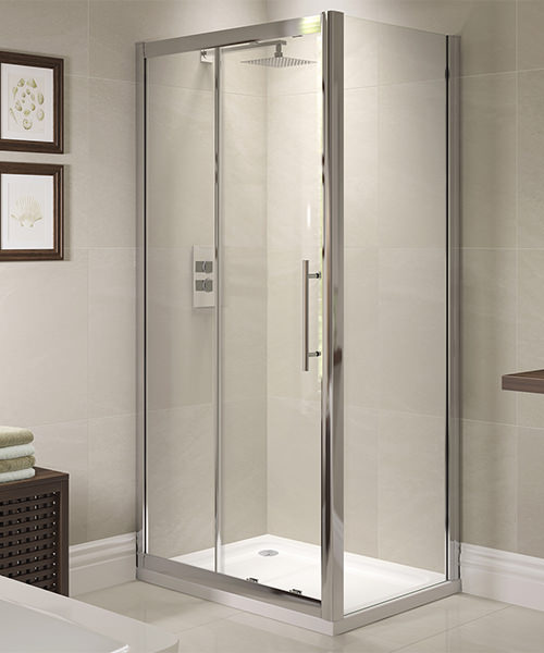 April prestige 1000mm sliding shower door for 1000mm shower door
