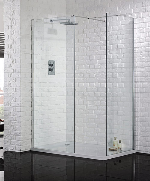 Aquadart Wetroom 8 Walk-In 1200mm Shower Panel