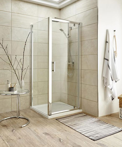 Lauren Pacific 800 x 1850mm Pivot Shower Door