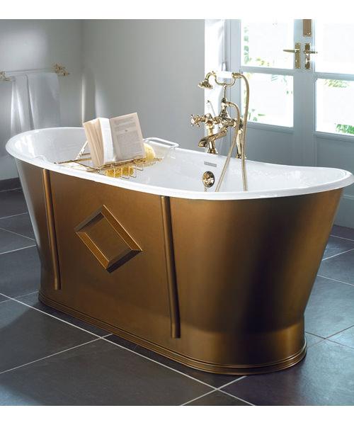 Imperial Westbury Cast Iron Freestanding Luxury Bath 1700 x 725mm