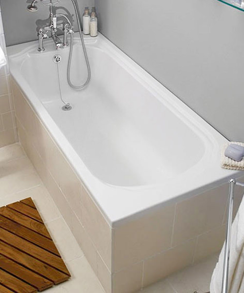 Imperial Oxford Single Ended Acrylic Bath 1700 x 750mm White