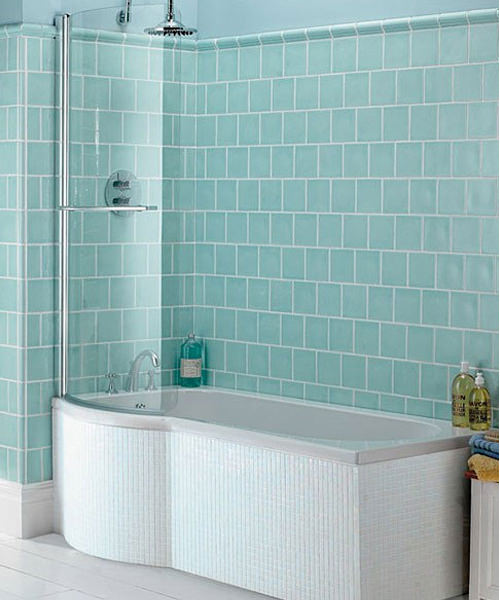 Imperial Indulgence Acrylic Shower Bath 1675 x 750mm Left Handed