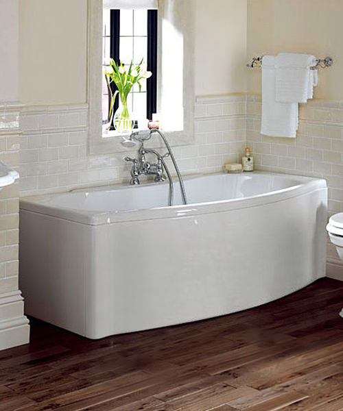 Imperial Drift Acrylic Bath 1700 x 800mm White