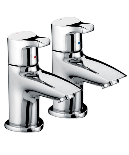Bristan Capri Bath Pillar Taps