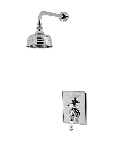 Imperial Concealed Victorian Thermostatic Dual Control Valve With Head