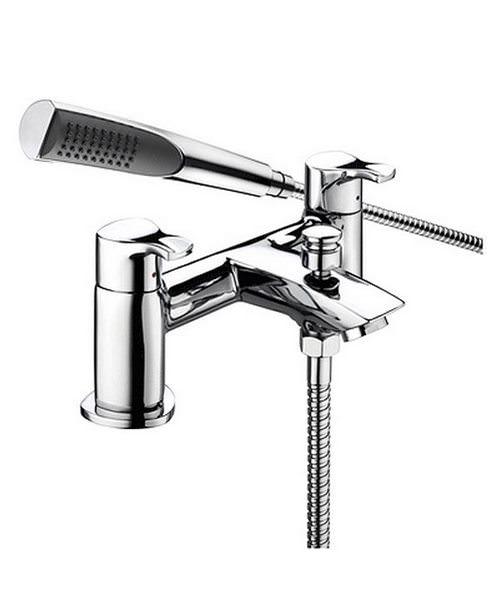 Bristan Capri Bath Shower Mixer Tap With Kit