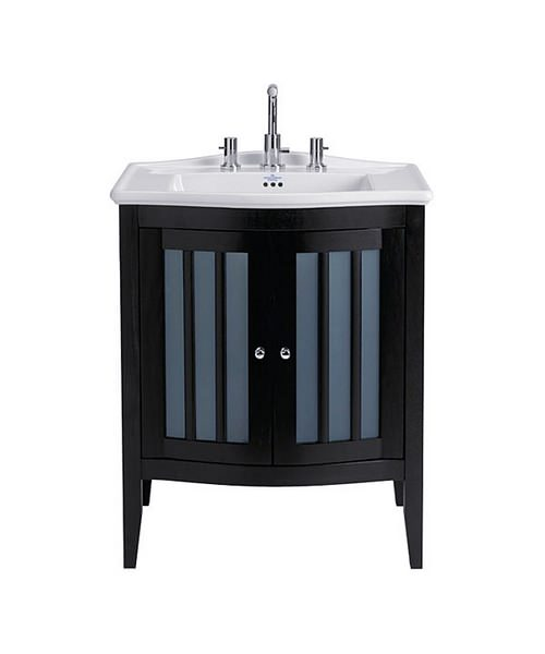 Imperial Westminster Linea Vanity Unit With 2 Curved Fronted Doors