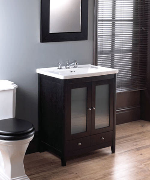 Imperial Radcliffe Esteem Square Vanity Unit With 2 Doors 650mm