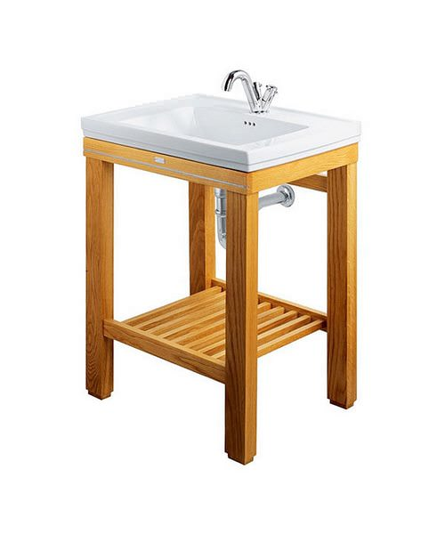 Imperial Cuda Open Wash Station Natural Oak