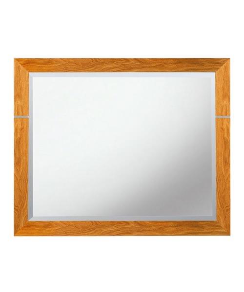 Imperial Cuda Bathroom Mirror 710 x 570mm Natural Oak