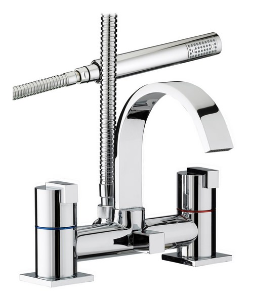 Bristan Chill Bath Shower Mixer Tap With Kit