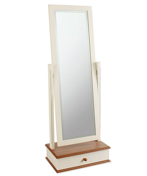 Imperial North Shore Cheval Mirror And Drawer