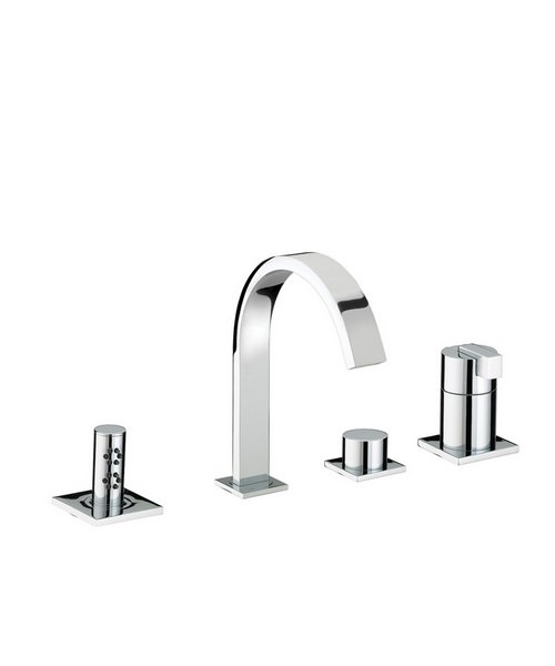 Bristan Chill 4 Hole Bath Shower Mixer Tap