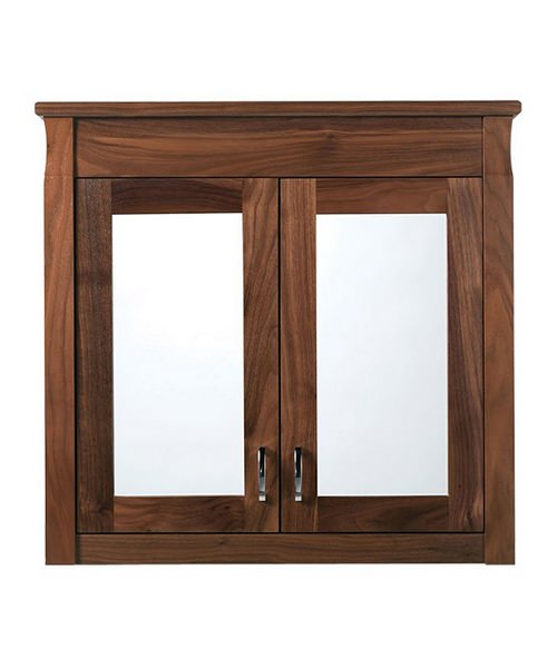 Imperial Barrington 2 Door Wall Cabinet With Mirrors Wenge