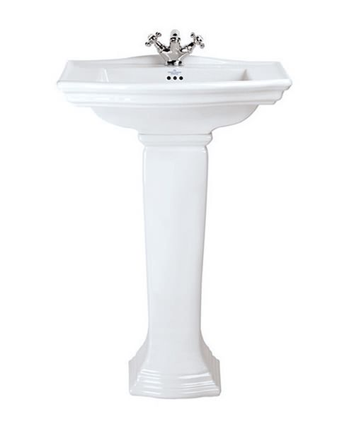 Imperial Westminster Medium 1 TH Basin 600mm With Pedestal Option