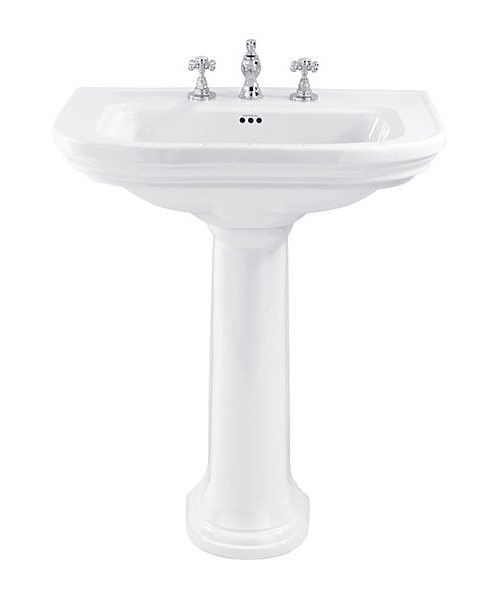 Imperial Carlyon 715mm Large Basin With 1 Tap Hole