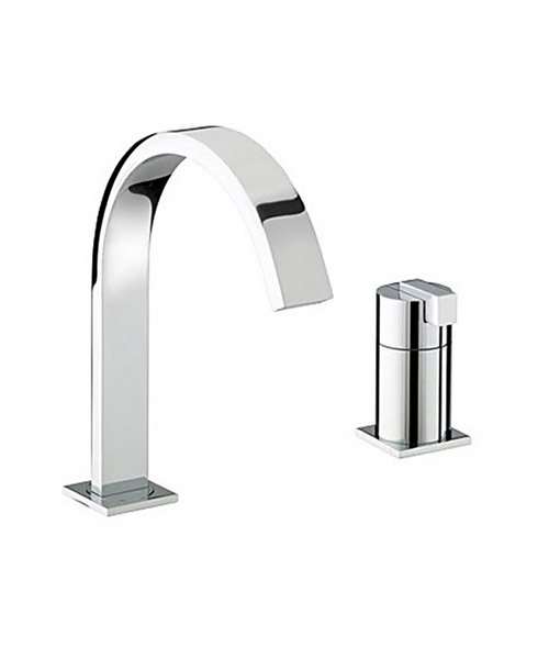 Bristan Chill 2 Hole Bath Filler Tap
