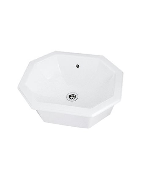 Imperial Astoria Deco Inset Basin 500mm Wide