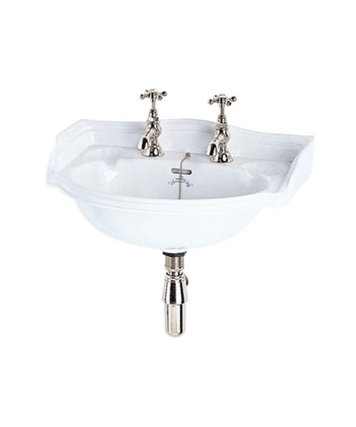 Imperial Oxford Cloakroom Wall Hung Basin 535mm White