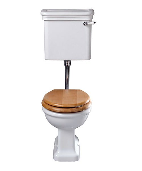 Imperial Etoile Toilet Pan And Low level Cistern 650mm