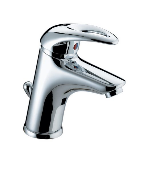 Bristan Java Basin Mixer Tap With Eco Click And Pop-Up Waste
