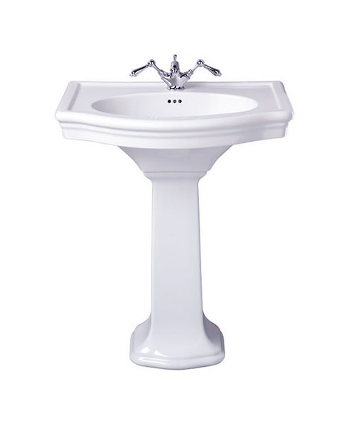 Imperial Firenze Large Basin 705mm And Pedestal