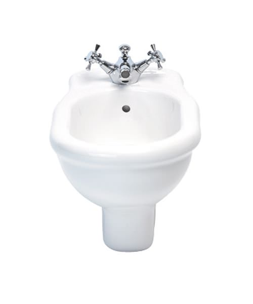Imperial Firenze Wall Hung Bidet With 1 Tap Hole 542mm