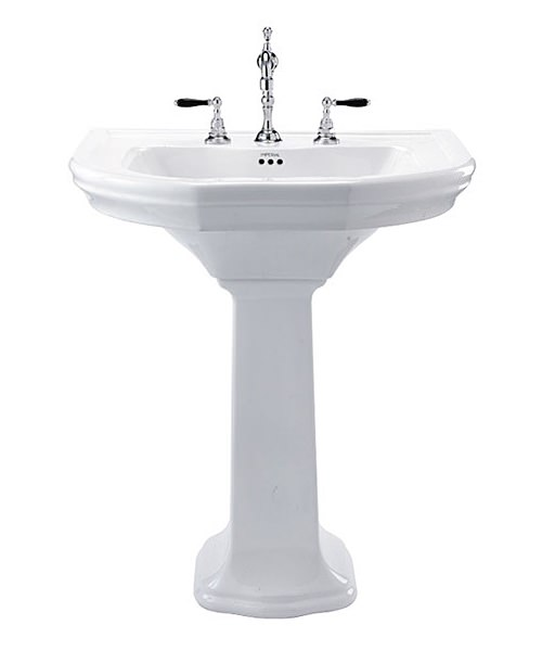 Imperial Bergier Large Basin 700mm Wide And Pedestal