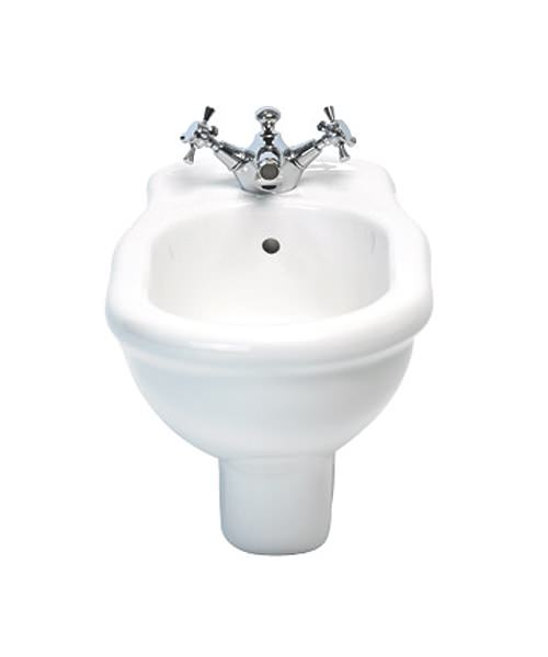 Imperial Bergier Wall Hung Bidet With 1 Tap Hole