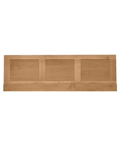 Imperial Shaker-Thurlestone Bath Front Panel 1700mm Natural Oak