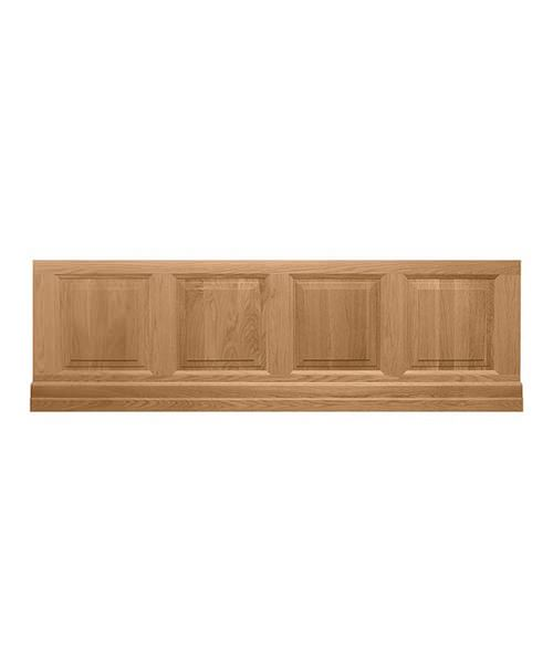 Imperial Raised And Fielded Bath Front Panel 1700mm Natural Oak