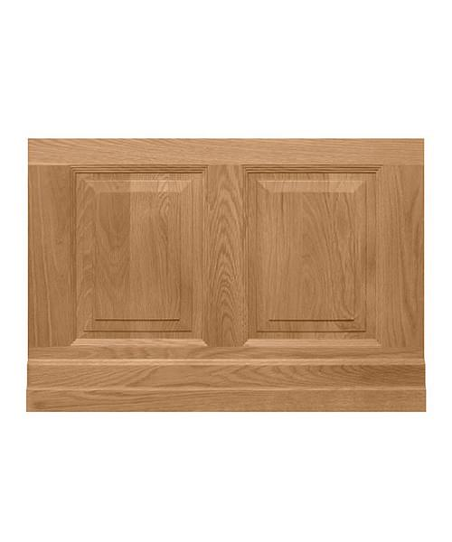 Imperial Raised And Fielded Bath End Panel 730mm Natural Oak