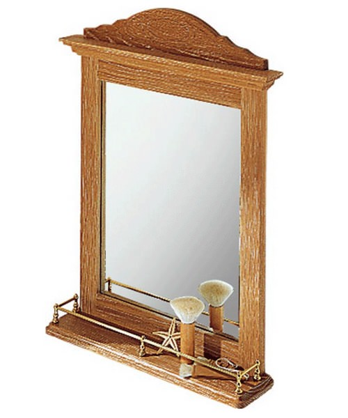 Imperial Westminster Gallery Wall Hung Mirror 510mm Wide