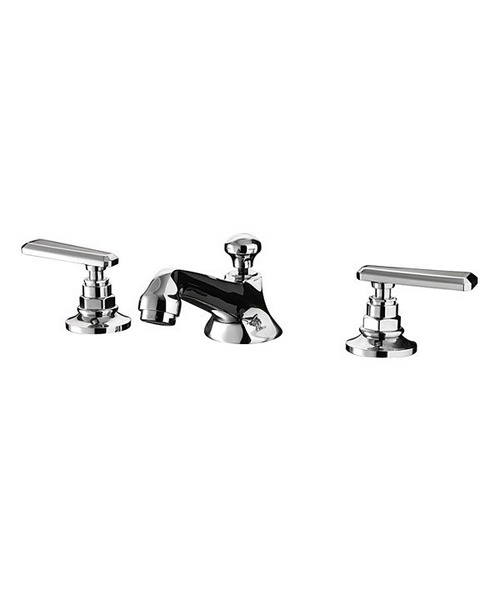 Imperial Poulie 3 Hole Basin Mixer Kit